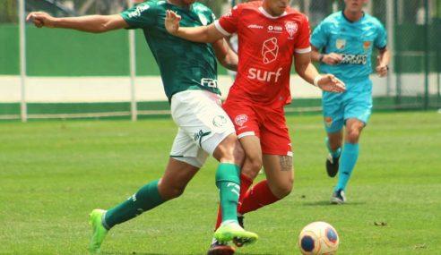 Palmeiras e Audax empatam pelo Paulista Sub-20 e seguem na liderança