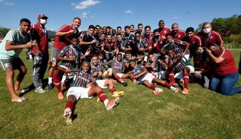 Fluminense sagra-se bicampeão da Taça Guanabara Sub-17