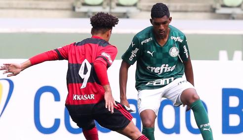 Flamengo volta a bater Palmeiras e vai à final da Copa do Brasil Sub-17