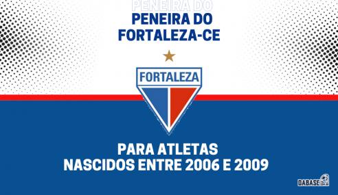 Fortaleza-CE realizará peneira para duas categorias