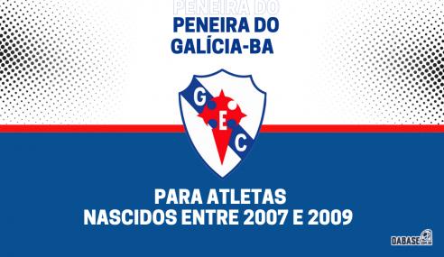 Galícia-BA realizará peneira para duas categorias