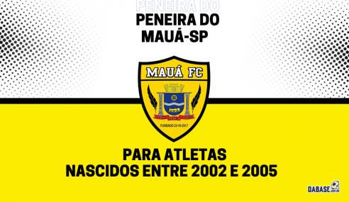 Mauá-SP abre inscrições de peneira para a equipe sub-20
