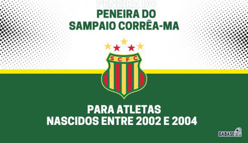 Sampaio Corrêa-MA realizará peneira para a categoria sub-19