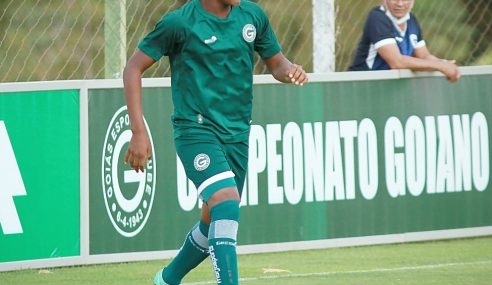 Goiás goleia e segue em primeiro lugar no Goiano Sub-17