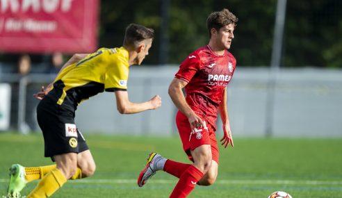 Villarreal-ESP se mantém 100% na Uefa Youth League