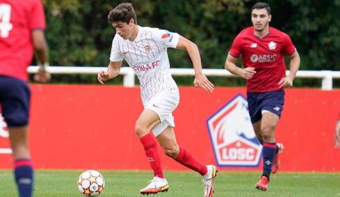 Sevilla permanece na ponta isolada do Grupo G na Uefa Youth League