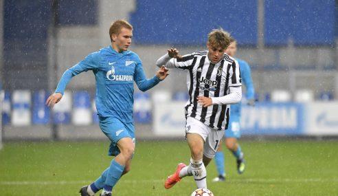 Juventus permanece isolado na liderança do Grupo H na Uefa Youth League