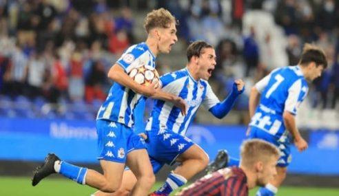 Definidos os duelos da segunda eliminatória dos campeões na Uefa Youth League