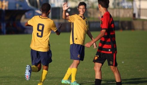 Retrô goleia Sport pelo Pernambucano Sub-13