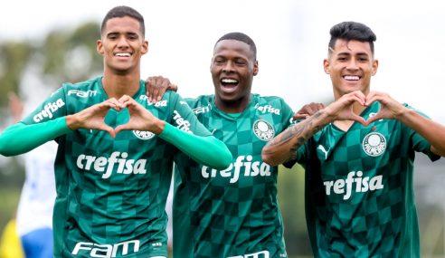 Palmeiras assegura primeiro lugar do seu grupo no Paulista com goleada