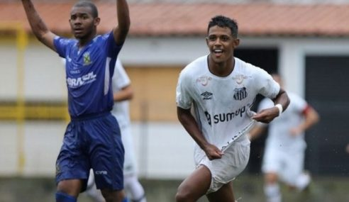 Santos vence e se classifica à segunda fase do Paulista Sub-20