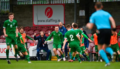 Irlanda reage e avança em primeiro do seu grupo para 2ª fase da Euro Sub-17