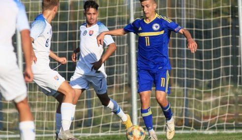 Suíça garante primeiro lugar no seu grupo de qualificação para a Euro Sub-17